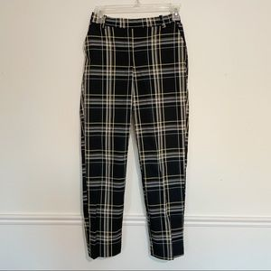 Plaid Patterned H&M Trousers